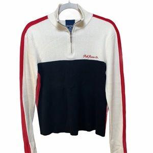 Polo Jeans Vintage y2k Classic Half Zip Sweater XL